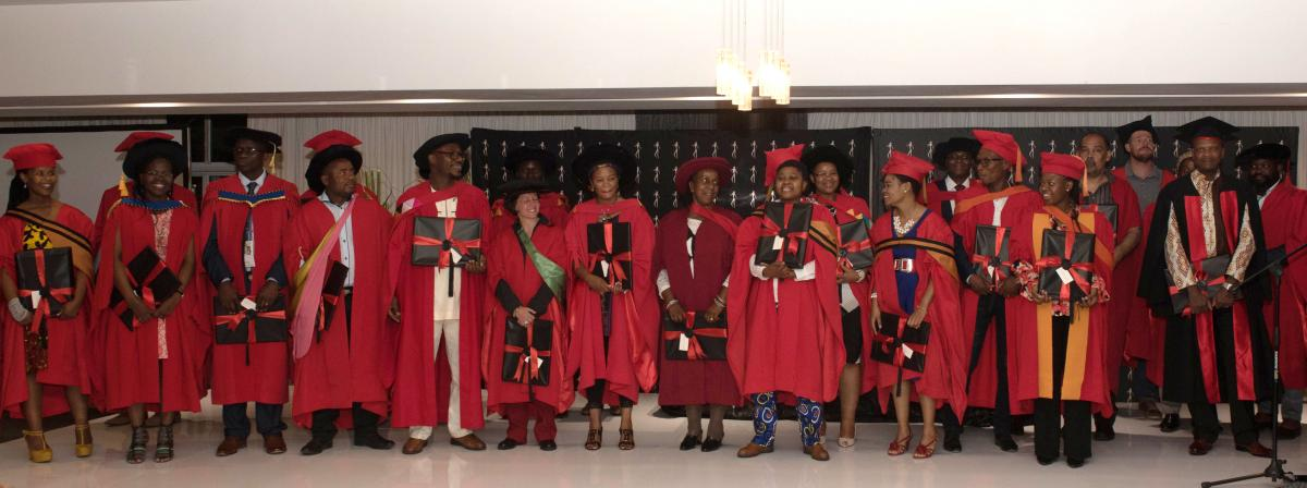NIHSS Graduates from different South African Universities